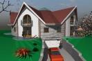 Fejlesztési területre tervezett ház